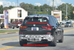 BMW X3M F97 Spy