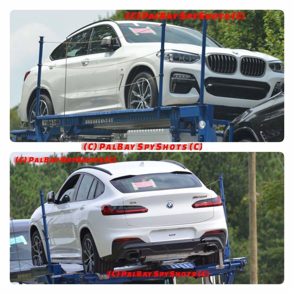 BMW X4 M40d G02 Spy