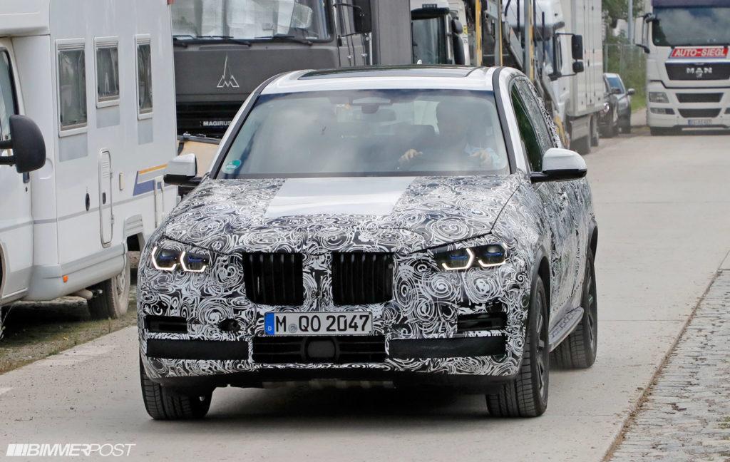 BMW X5 G05 Spy Production Lights