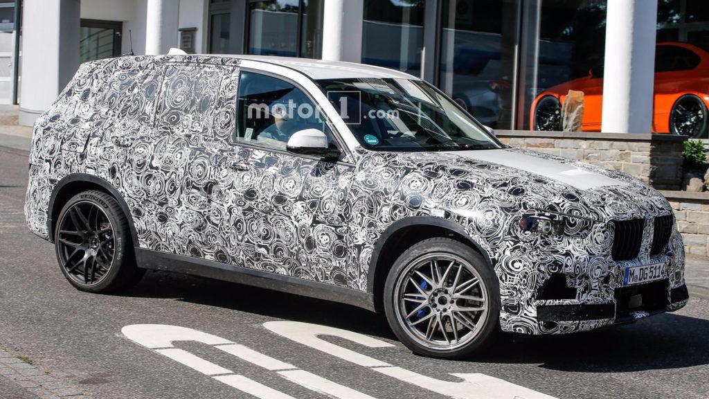 BMW X5M G05 Spy