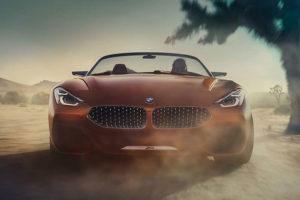 BMW Z4 Concept Peeble Beach 2017
