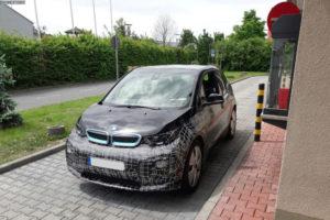 BMW i3S facelift Spy