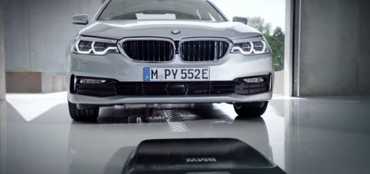 BMW 530e iPerformance Wireless Charging