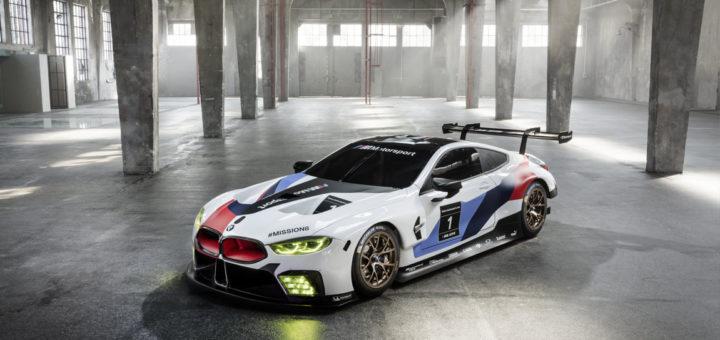 BMW M8 GTE - IAA 2017 - BMW Serie 8 Concept