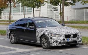 BMW Serie 7 LCI Spy - BMW Serie 7 G11