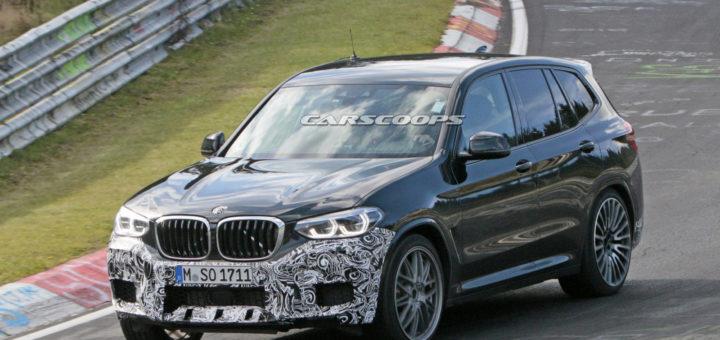 BMW X3M Spy F97