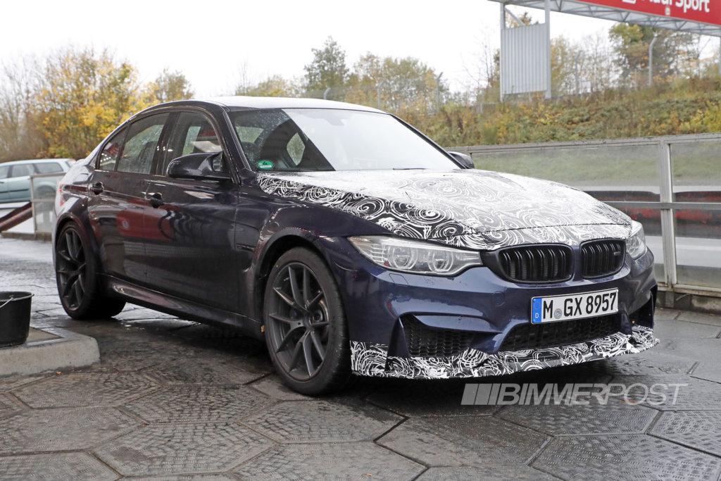 BMW M3 CS F80 Spy