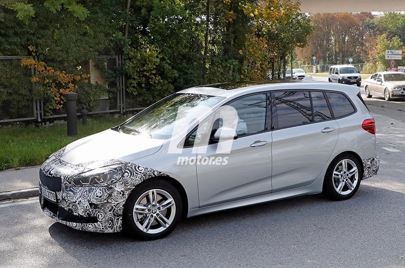 BMW Serie 2 Gran Tourer LCI Spy