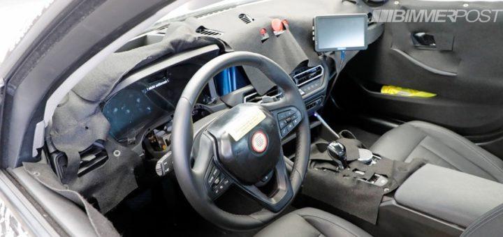 BMW Serie 3 G20 interior spy