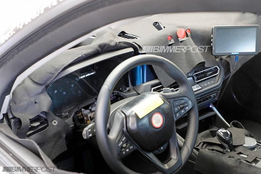 Bmw Serie 3 G20 Interior Spy 2 Bmwnews