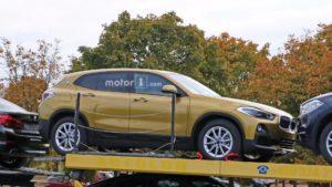 BMW X2 F39 Spy 2018