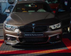 BMW 440i Gran Coupe M Performance Parts SEMA 2017 - Serie 4 F36