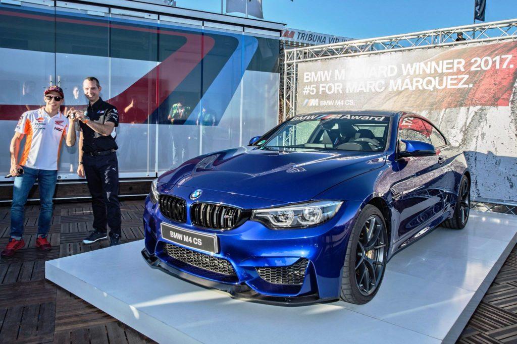 BMW M Award MotoGP 2017 - BMW M4 CS Marquez
