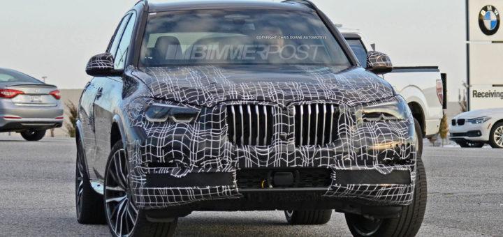 BMW X5 G05 2018 Spy
