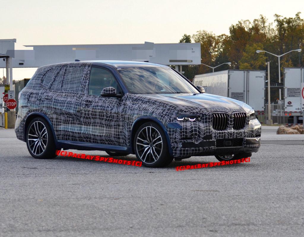 BMW X5 G05 Spy 2018
