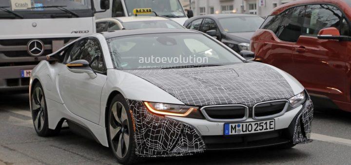 BMW i8s Spy - BMW i8 LCI - BMW i