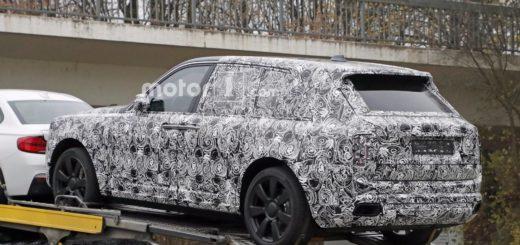 Rolls Royce Cullinan Spy trailer