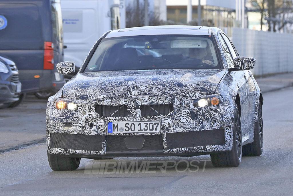 BMW M3 G80 Spy 2020