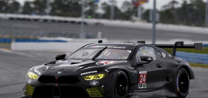 BMW M8 GTE Shakedown 24h Daytona