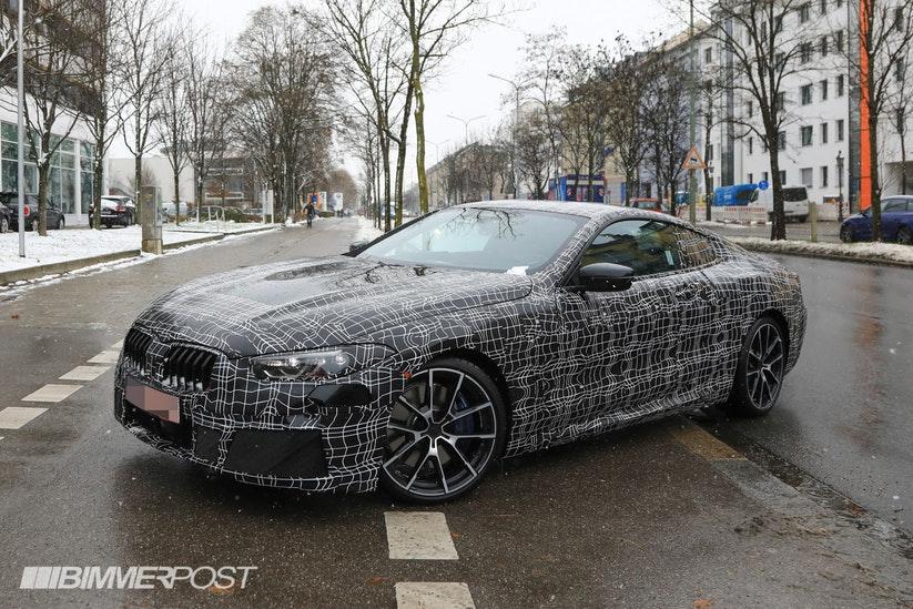 BMW M850i Coupe G14 Spy
