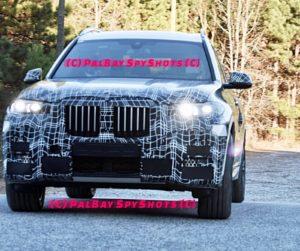 BMW X7 G07 Spy South Carolina