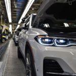 BMW X7 G07 Spy Production Line