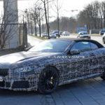 BMW M8 Cabrio Spy - BMW Serie 8