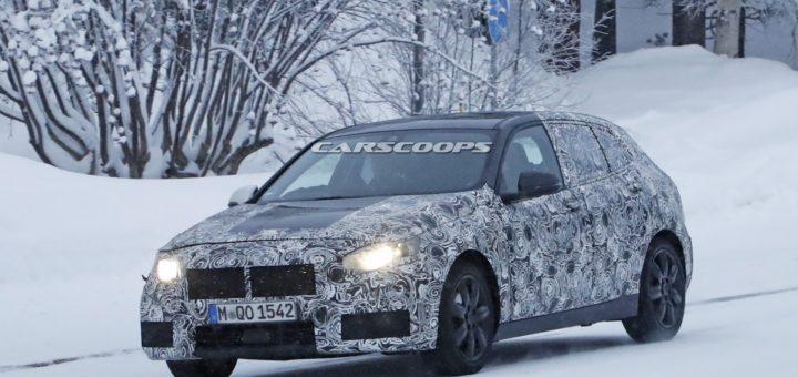 BMW Serie 1 F40 Spy Winter