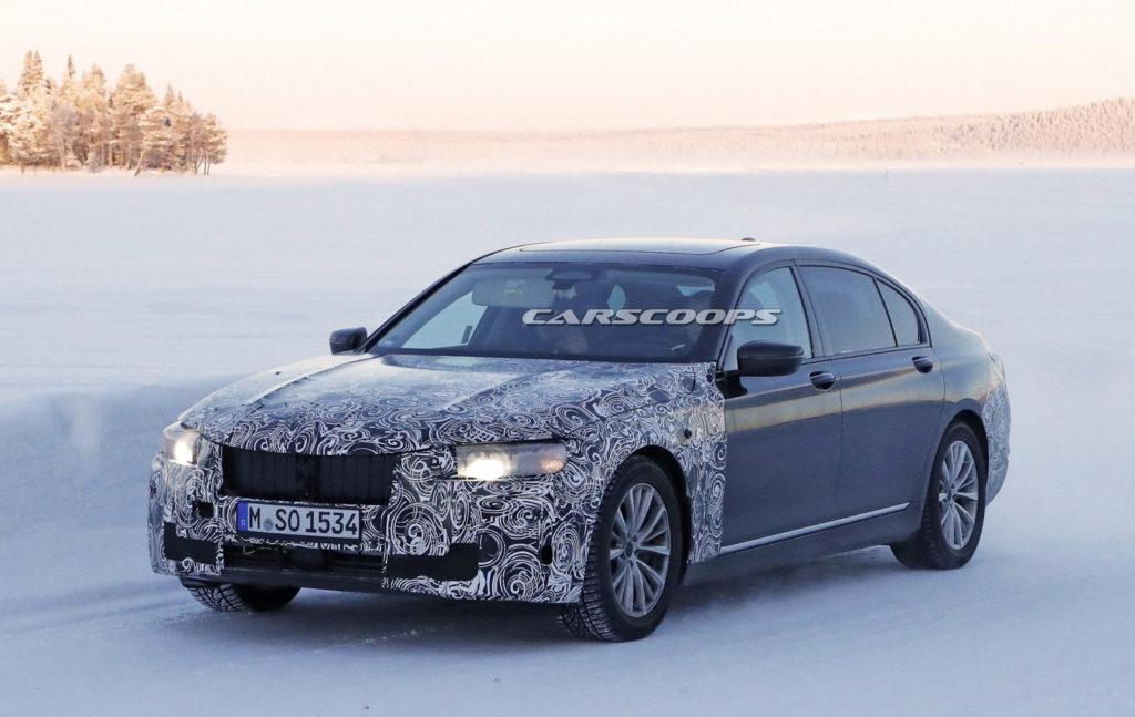 BMW Serie 7 G12 LCI Spy - BMW Serie 7 - G11