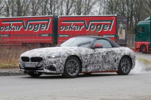 BMW Z4 Roadster G29 Spy 2019