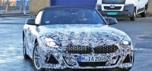 BMW Z4 M40i Spy