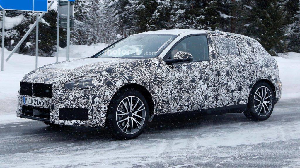 BMW Serie 1 2018 Spy - F40 (3)