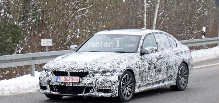 BMW Serie 3 2019 M Sport Spy - G20 (8)