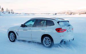 BMW X3 PHEV - BMW X3 G01 Spy - BMW X3 xDrive30e (3)