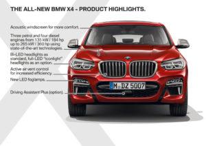 BMW X4 2018 - BMW X4 M40d - BMW X4 G02 (22)