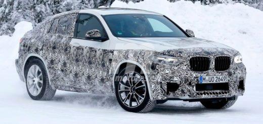 BMW X4 M F98 Spy - G02