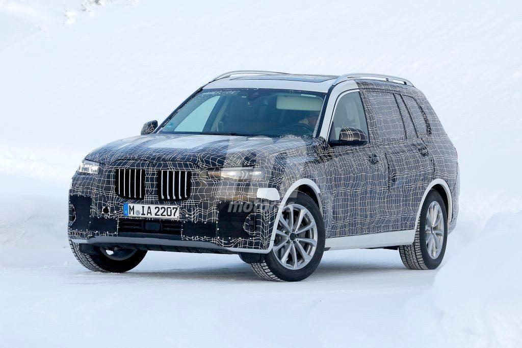 BMW X7 2018 Spy - G07