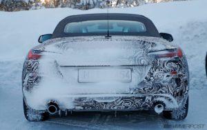 BMW Z4 Roadster 2018 G29 Spy (4)