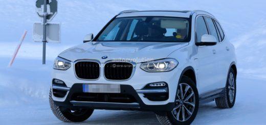 BMW iX3 Spy - BMW X3 BEV