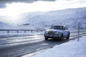 Rolls Royce Cullinan Spy - Rolls Royce SUV