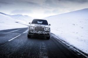 Rolls Royce Cullinan Spy - Rolls Royce SUV (4)