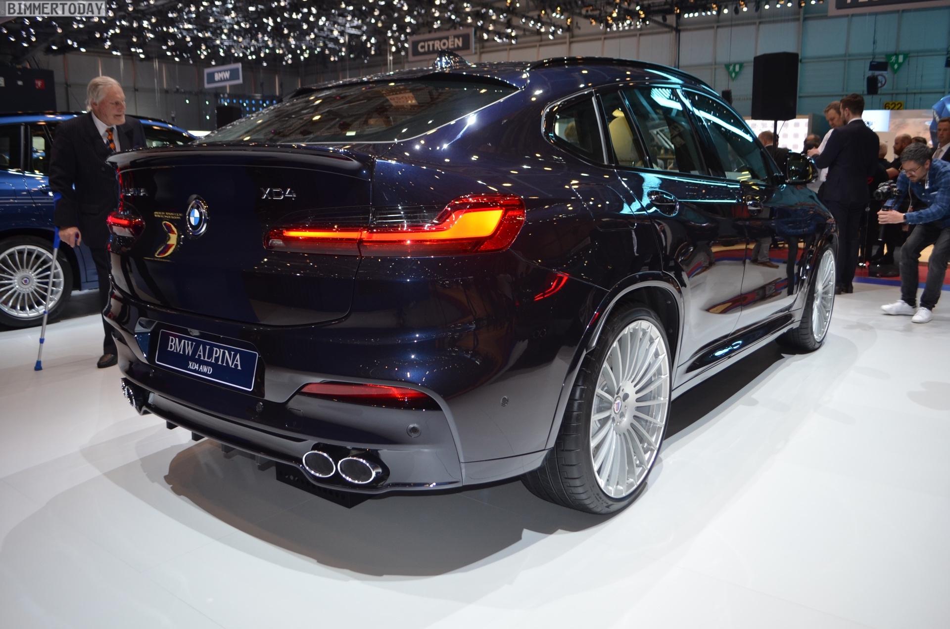 BMW Alpina XD4 al Salone di Ginevra 2018 - BMWnews