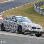 BMW M3 G80 Spy 2020 - BMW Serie 3 (3)