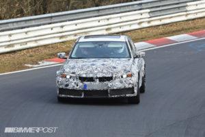 BMW M3 G80 Spy 2020 - BMW Serie 3