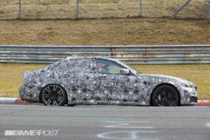 BMW M3 G80 Spy 2020 - BMW Serie 3 (4)