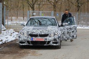 BMW Serie 3 2019 Spy - G20