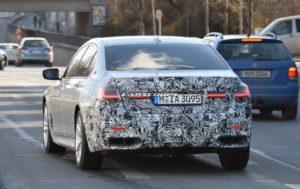 BMW Serie 7 Facelift 2019 Spy - G11 - G12 (11)