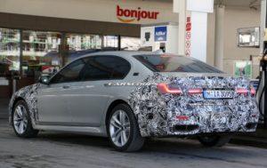 BMW Serie 7 Facelift 2019 Spy - G11 - G12