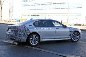 BMW Serie 7 Facelift 2019 Spy - G11 - G12 (7)