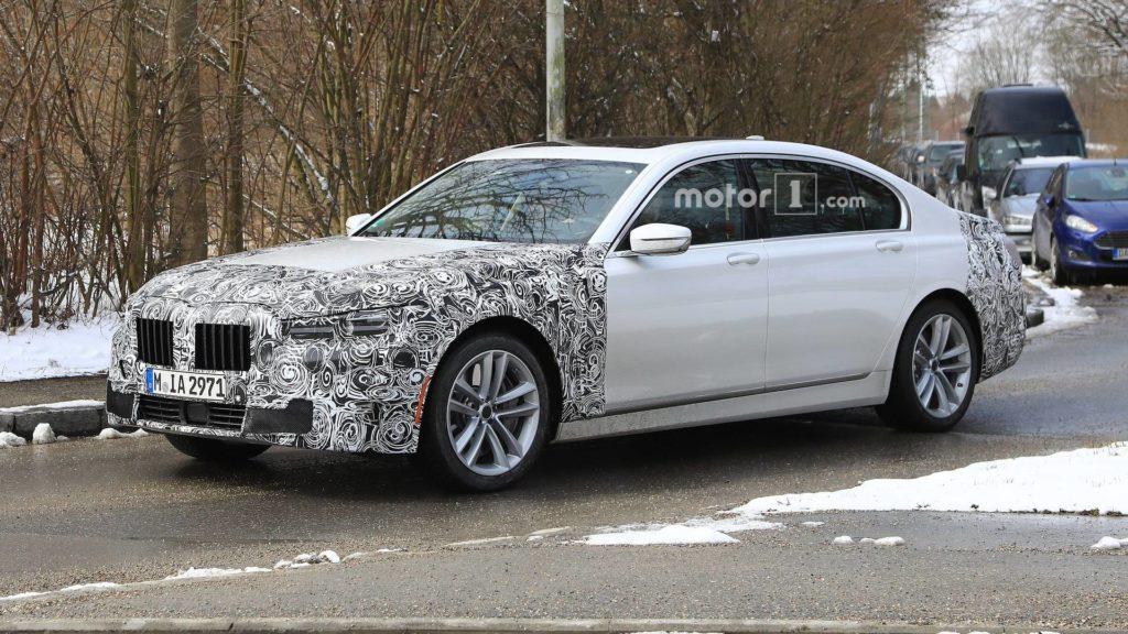 BMW Serie 7 facelift LCI 2019 SPY - G11 G12 (2)